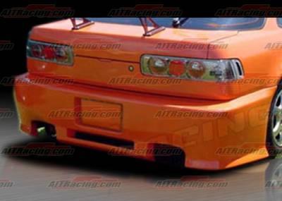 Integra 4Dr - Rear Bumper - AIT Racing - Acura Integra AIT Racing Revolution Style Rear Bumper - AI90HIREVRB