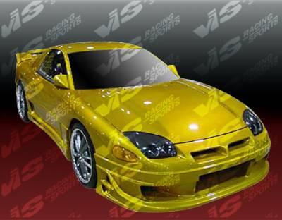 3000GT - Front Bumper - VIS Racing - Mitsubishi 3000GT VIS Racing Ballistix Front Bumper - 94MT3K2DBX-001