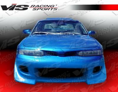 Galant - Front Bumper - VIS Racing - Mitsubishi Galant VIS Racing Battle Z Front Bumper - 94MTGAL4DBZ-001