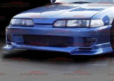 Integra 4Dr - Front Bumper - AIT Racing - Acura Integra AIT Racing SF Style Front Bumper - AI90HISFSFB