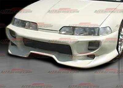 Integra 4Dr - Front Bumper - AIT Racing - Acura Integra AIT Racing VSB Style Front Bumper - AI90HIVSBFB