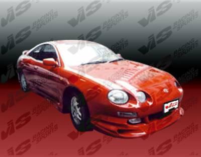 Celica - Front Bumper - VIS Racing - Toyota Celica VIS Racing Z max Front Lip - 94TYCEL2DZMX-011