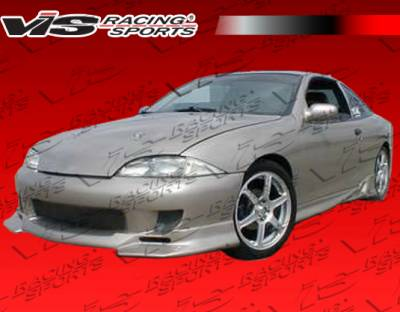 Cavalier 2Dr - Front Bumper - VIS Racing - Chevrolet Cavalier VIS Racing Strada F1 Front Bumper - 95CHCAV2DSF1-001