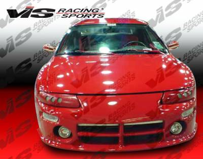 Sebring 2Dr - Front Bumper - VIS Racing - Chrysler Sebring 2DR VIS Racing Viper Front Bumper - 95CYSEB2DVR-001