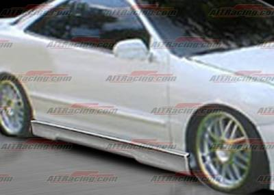 Integra 4Dr - Side Skirts - AIT Racing - Acura Integra 4DR AIT Racing EVO4 Style Side Skirts - AI94HIEVO4SS4