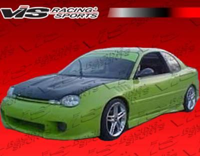 Neon 2Dr - Front Bumper - VIS Racing - Dodge Neon VIS Racing Kombat Front Bumper - 95DGNEO2DKOM-001