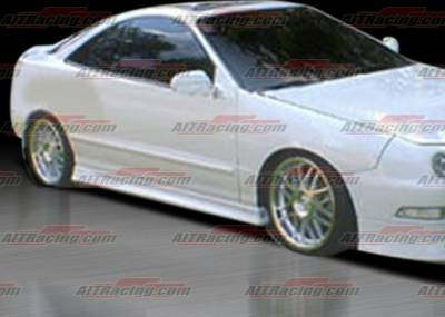Integra 2Dr - Side Skirts - AIT Racing - Acura Integra AIT Racing Extreme Style Side Skirts - AI94HIEXSSS2
