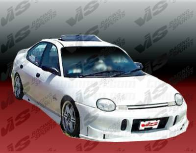 Neon 2Dr - Front Bumper - VIS Racing - Dodge Neon VIS Racing TSC Front Bumper - 95DGNEO2DTSC-001