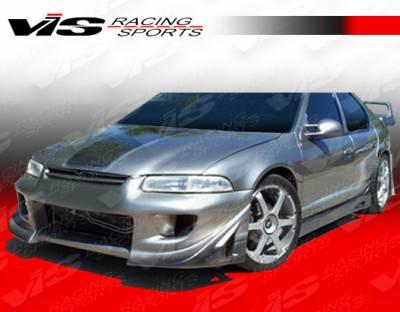 Stratus 4Dr - Front Bumper - VIS Racing - Dodge Stratus 4DR VIS Racing Battle Z Front Bumper - 95DGSTR4DBZ-001