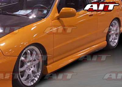 Integra 4Dr - Side Skirts - AIT Racing - Acura Integra 4DR AIT MG2 Style Side Skirts - AI94HIMG2SS4