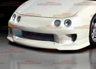 Integra 4Dr - Front Bumper - AIT Racing - Acura Integra AIT Racing SF Style Front Bumper - AI94HISFIFB