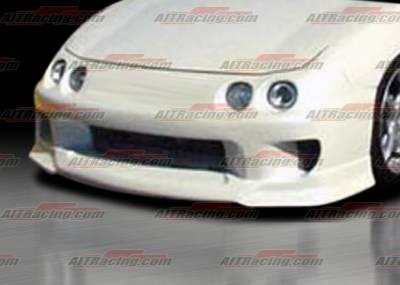 Integra 4Dr - Front Bumper - AIT Racing - Acura Integra AIT Racing SF Style Front Bumper - AI94HISFSFB