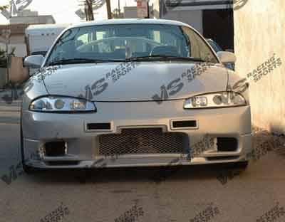 Eclipse - Front Bumper - VIS Racing - Mitsubishi Eclipse VIS Racing Omega Front Bumper - 95MTECL2DOMA-001