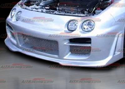 Integra 4Dr - Front Bumper - AIT Racing - Acura Integra AIT Racing R34 Style Front Bumper - AI98HIR34FB