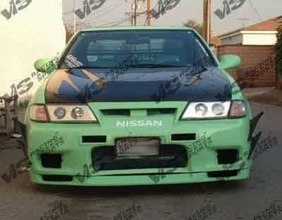200SX - Front Bumper - VIS Racing - Nissan 200SX VIS Racing Omega Front Bumper - 95NS2002DOMA-001
