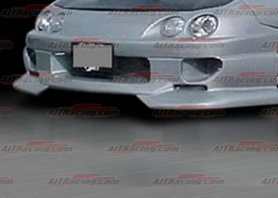 Integra 4Dr - Front Bumper - AIT Racing - Acura Integra AIT Racing SF2 Style Front Bumper - AI98HISFIIFB