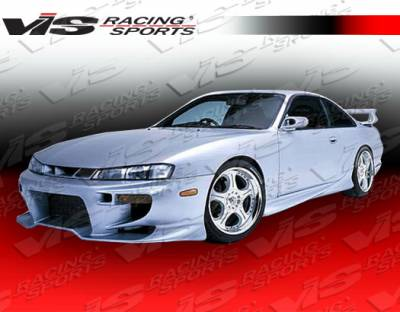 240SX - Front Bumper - VIS Racing - Nissan 240SX VIS Racing Invader Front Bumper - 95NS2402DINV-001