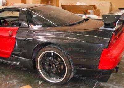 NSX - Fenders - AIT Racing - Acura NSX AIT Racing JGTC Style Rear Fenders - AN91BMMHSRFC