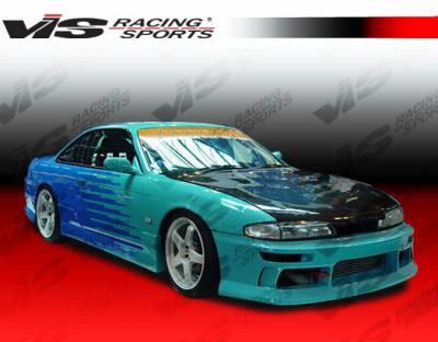 240SX - Front Bumper - VIS Racing - Nissan 240SX VIS Racing M-Speed Front Bumper - 95NS2402DMSP-001