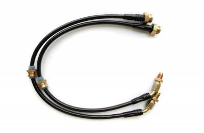 Brakes - Brake Lines - Agency Power - Nissan 240SX Agency Power Steel Braided Brake Lines - Front - AP-240-405