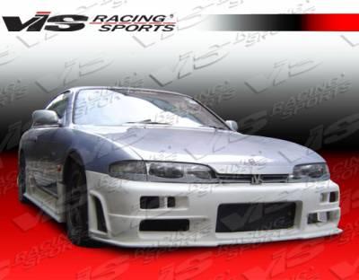 240SX - Front Bumper - VIS Racing - Nissan 240SX VIS Racing R34 Front Bumper - 95NS2402DR34-001