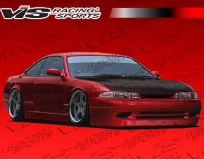 240SX - Front Bumper - VIS Racing - Nissan 240SX VIS Racing Super Front Bumper - 95NS2402DSUP-001