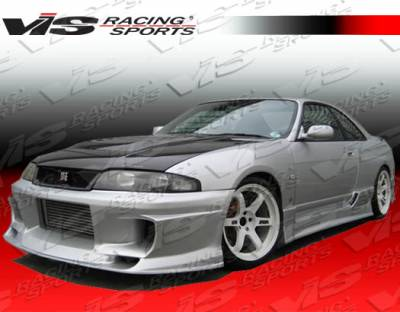 Skyline - Front Bumper - VIS Racing - Nissan Skyline VIS Racing Demon Front Bumper - 95NSR33GTRDEM-001