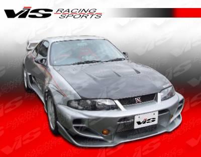 Skyline - Front Bumper - VIS Racing - Nissan Skyline VIS Racing Invader GT Front Bumper - 95NSR33GTRINVGT-001