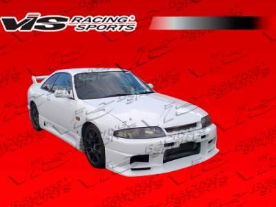 Skyline - Front Bumper - VIS Racing - Nissan Skyline VIS Racing Terminator Front Bumper - 95NSR33GTRTM-001