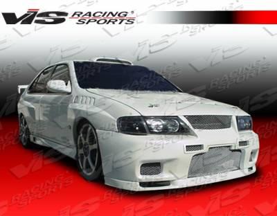 Sentra - Front Bumper - VIS Racing - Nissan Sentra VIS Racing Omega Front Bumper - 95NSSEN4DOMA-001