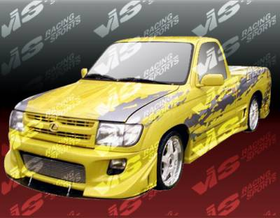 Tacoma - Front Bumper - VIS Racing - Toyota Tacoma VIS Racing Battle Z Front Bumper - 95TYTAC2DBZ-001