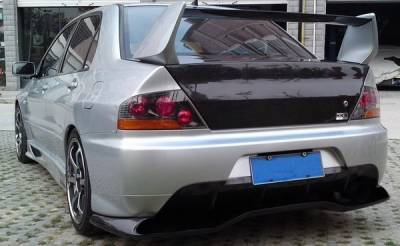 Lancer - Trunk Hatch - Bayspeed. - Mitsubishi Lancer Bay Speed OEM Style Carbon Fiber Trunk - CFT3340