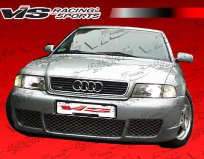 A4 - Front Bumper - VIS Racing - Audi A4 VIS Racing R Tech Front Bumper - 96AUA44DRTH-001