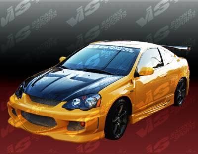 Civic 2Dr - Front Bumper - VIS Racing - Honda Civic 2DR & HB VIS Racing GT Bomber Front Bumper - 96HDCVC2DGB-001
