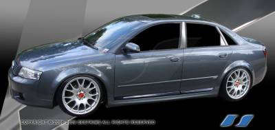 A4 - Body Kit Accessories - SES Trim - Audi A4 SES Trim Pillar Post - 304 Mirror Shine Stainless Steel - 6PC - P242