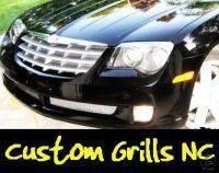 Grilles - Custom Fit Grilles - Custom - Bumper Grille Mesh Insert Chrome