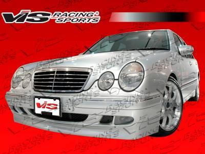 E Class - Front Bumper - VIS Racing - Mercedes-Benz E Class VIS Racing C Tech Front Lip - 96MEW2104DCTH-011