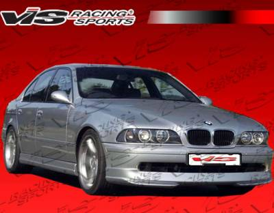 5 Series - Front Bumper - VIS Racing - BMW 5 Series VIS Racing A Tech Front Lip - 97BME394DATH-011