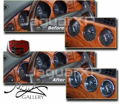 Car Interior - Interior Trim Kits - Custom - Instrument Ring Kit - chrome