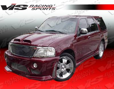 Expedition - Front Bumper - VIS Racing - Ford Expedition VIS Racing Outcast Front Bumper - 97FDEXP4DOC-001