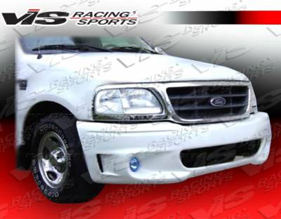 F150 - Front Bumper - VIS Racing - Ford F150 VIS Racing Lighting-2 Front Bumper - 97FDF152DLIG2-001