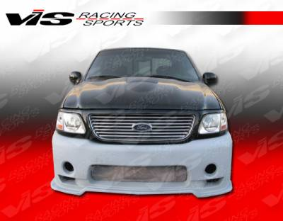 F150 - Front Bumper - VIS Racing - Ford F150 VIS Racing Outlaw-1 Front Bumper - 97FDF152DOL1-001