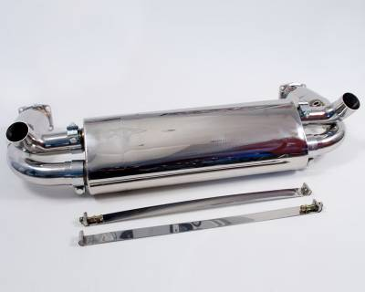 Agency Power - Porsche 911 Agency Power Exhaust Sytem with Stainless Mufflers - AP-997TT-170 - Image 4