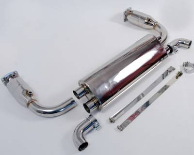 Agency Power - Porsche 911 Agency Power Exhaust Sytem with Stainless Mufflers - AP-997TT-170 - Image 2