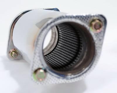 Agency Power - Hyundai Genesis Agency Power Stainless Steel Exhaust Resonator - AP-BK20-172 - Image 2