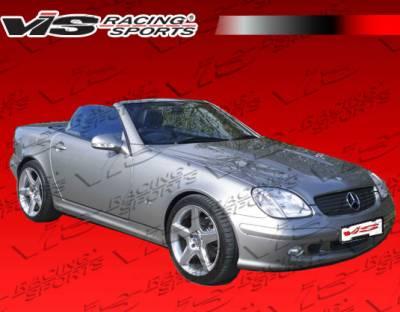 SLK - Front Bumper - VIS Racing - Mercedes-Benz SLK VIS Racing Laser Front Bumper - 97MER1702DLS-001
