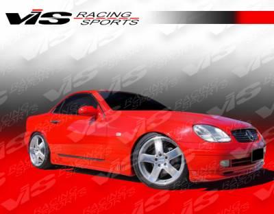 SLK - Front Bumper - VIS Racing - Mercedes-Benz SLK VIS Racing Laser Front Lip - 97MER1702DLS-011