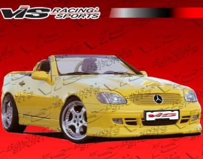 SLK - Front Bumper - VIS Racing. - Mercedes-Benz SLK VIS Racing R Tech Front Lip - 97MER1702DRTH-011