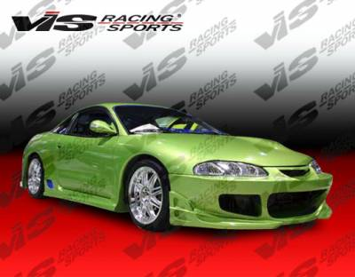 Eclipse - Front Bumper - VIS Racing - Mitsubishi Eclipse VIS Racing Cyber Front Bumper - 97MTECL2DCY-001