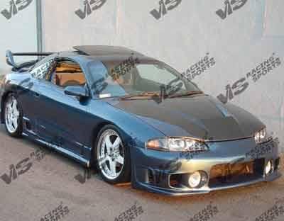 Eclipse - Front Bumper - VIS Racing - Mitsubishi Eclipse VIS Racing Evolution Front Bumper - 97MTECL2DEVO-001